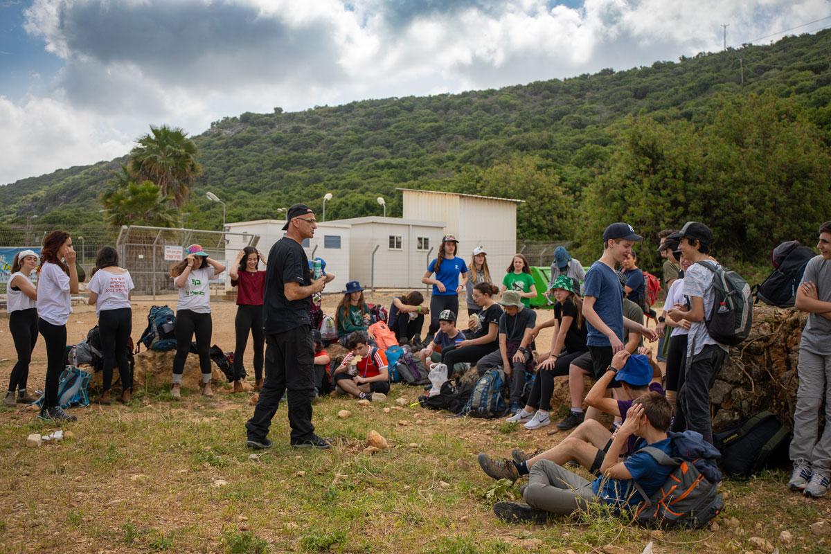 חינוך וולדורף - בית ספר תמר, הוד השרון: חמישה ימים בשבילים