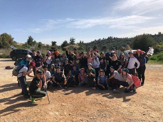 בית ספר תמר, הוד השרון - חינוך וולדורף: ירושלים - הנה אני בא: המסע של כיתות ז'