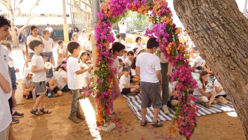 בית ספר תמר, הוד השרון - שער הפרחים וחג חודש - מאי 2021