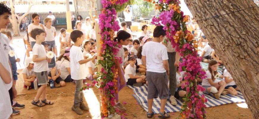 שער הפרחים 2021 בית ספר תמר